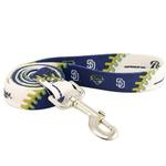 View Image 1 of San Diego Padres Baseball Printed Dog Leash