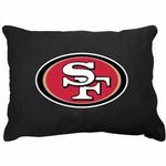 View Image 1 of San Francisco 49ers Dog Bed
