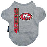 View Image 1 of San Francisco 49ers Dog T-Shirt