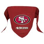 San Francisco 49ers Mesh Dog Bandana