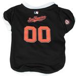 View Image 1 of San Francisco Giants Baseball Dog Jersey