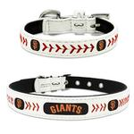 View Image 1 of San Francisco Giants Leather Dog Collar