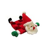 View Image 1 of Santa Squeaker Mat Dog Toy