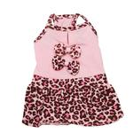 View Image 1 of Sassy Leopard Dog Dress by Dogo
