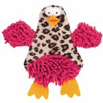 Savvy Tabby Crinkle Chick Cat Toy - Pink