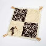 View Image 1 of Savvy Tabby Wild Time Play Patch Cat Toy - Brown
