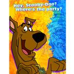 Scooby Doo Party Supplies - Mod Mystery Invitations