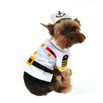 View Image 1 of Sea Captain Dog Costume