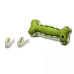 View Image 3 of Seamsters Rubber/Rawhide Green Bone