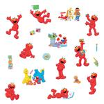 Sesame Street Bedroom Decor - Elmo-Centric Wall Decals