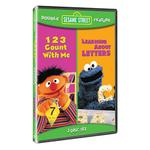 Sesame Street Movies - 123 Count with Me & Learning about Letters