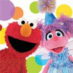 Sesame Street Party Supplies - Beverage Napkins