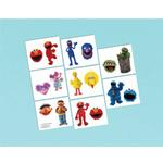 Sesame Street Party Supplies - Temporary Tattoo Favors