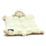 View Image 2 of Shelby the Sheep Squeaker Mat Dog Toy