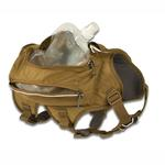 View Image 2 of Singletrak Hydration Dog Pack by RuffWear - Dry River Brown