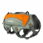 View Image 5 of Singletrak Hydration Dog Pack by RuffWear - Orange Sunset