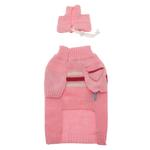 View Image 2 of Ski Dog Sweater by Dogo - Pink