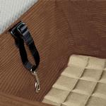 View Image 2 of Skybox Pet Booster Seat by Kurgo - Khaki