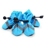 Slip-On Paws Dog Booties by Dogo - Light Blue