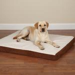 View Image 1 of Slumber Pet Orthopedic Memory Foam Dog Bed - Brown
