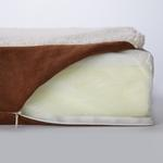 View Image 3 of Slumber Pet Orthopedic Memory Foam Dog Bed - Brown