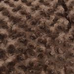 View Image 3 of Slumber Pet Swirl Plush Cushion - Chocolate