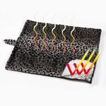 View Image 2 of Slumber Pet Thermal Cat Mat - Brown Leopard