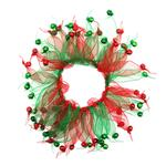 View Image 1 of Smoochers Pet Scrunchie - Christmas Bells