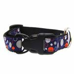View Image 2 of Soda Pop Reflective Dog Collar - Blue
