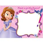 Sofia the First Party Supplies - Water Paint Boards