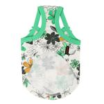View Image 3 of Soft Spice Dog Tank by Puppia - Green