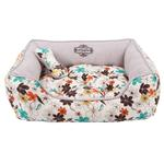 View Image 2 of Soft Spice House Dog Bed by Puppia - Brown