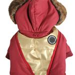 View Image 3 of Soothing Dog Coat by Puppia - Wine