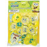 SpongeBob SquarePants Party Supplies - 48 Piece Party Favor Pack