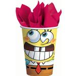 SpongeBob SquarePants Party Supplies - 9oz Party Cups