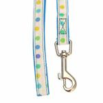 View Image 2 of Sprinkles Dog Leash by Pinkaholic - Blue
