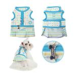 View Image 2 of Sprinkles Flirt Harness Dress by Pinkaholic - Blue