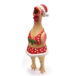 View Image 1 of Squawker's Family Dog Toy - Christmas Henrietta