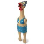 View Image 1 of Squawker's Family Dog Toy - Grandma Hippie Chick