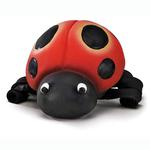 View Image 1 of Squeeze Meeze Ladybug Dog Toy
