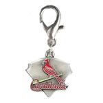 View Image 1 of St. Louis Cardinals Pennant Dog Collar Charm