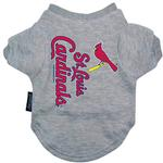 View Image 1 of St. Louis Cardinals Dog T-Shirt