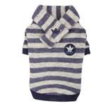 View Image 5 of Stanza Dog Sweater by Pinkaholic - Navy