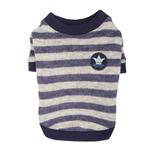 View Image 4 of Stanza Dog Sweater by Pinkaholic - Navy
