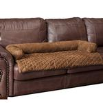 View Image 2 of Sta-Put Pet Bolstered Furniture Protector by Solvit - Cocoa