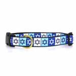 View Image 1 of Star of David Dog Collar by Up Country
