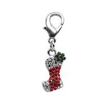 Stocking Holiday Dog Collar Charm