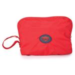 View Image 2 of Stowaway Rain Jacket by Zack & Zoey - Tomato Red