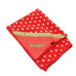 View Image 1 of Strawberry Dog Blankie by Puppia