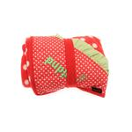 View Image 3 of Strawberry Dog Blankie by Puppia